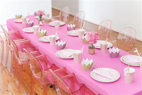 pink and gold birthday themes kara s ideas pink gold princess birthday