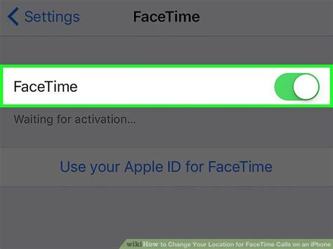 how to your location on iphone how to change your location for facetime calls on an iphone