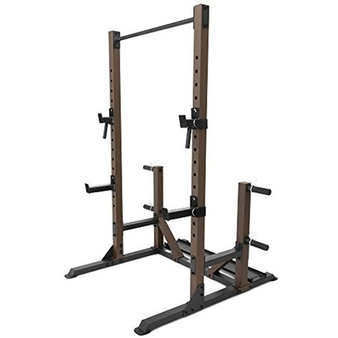 steelbody squat rack utility trainer  weight storage posts stb  check   image
