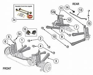 jeep wrangler tj suspension parts years 1997 2006 With jeep wrangler front end diagram car tuning