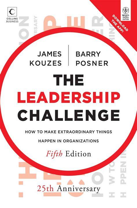 leadership challenge book summary readingraphics