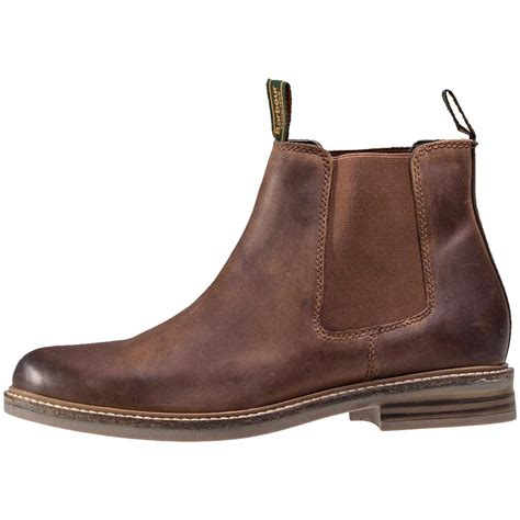 Barbour Farsley Mens Chelsea Boots in Tan