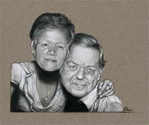 Cadeau Noce D Or : couple portrait cadeau original pour noce d 39 or photo de portraits aux pastels ~ Teatrodelosmanantiales.com Idées de Décoration