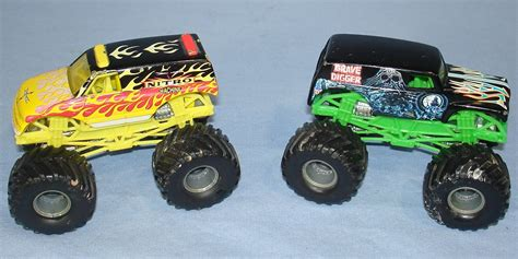 grave digger monster truck for sale mattel monster trucks yellow nitro machine green grave