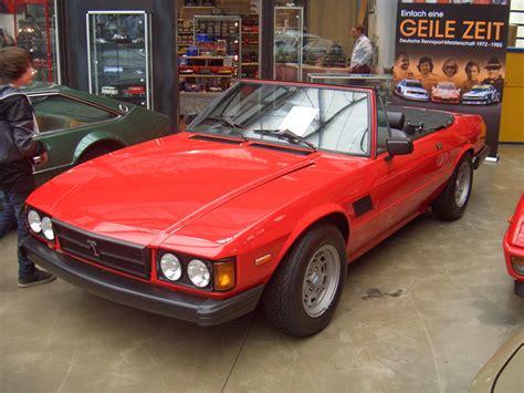 De Tomaso Longchamp Spyder Gen2 000 1983 Frontleft
