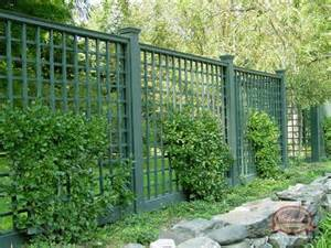 Lattice Privacy Screen Fence