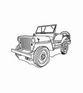 1948 jeep cj 2a with hardtop for the jeep coloring book With 1948 ford coupe red