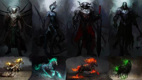 horsemen apocalypse four horseman wallpapers kamarudin daniel imgur metallica fantasy epic together supernatural