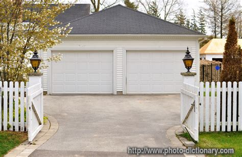 Double Garage  Photopicture Definition At Photo