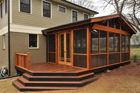 how to screen in a porch craftsman screen porch craftsman atlanta by