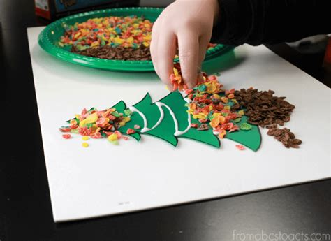 christmas tree crafts for preschool scented tree craft for from abcs to acts