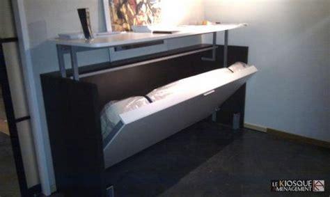 lit escamotable avec bureau relevable fabriquer lit