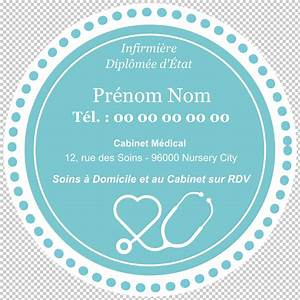 Carte De Visite Original : carte de visite infirmi re mod le carte de visite ronde original dessin ~ Melissatoandfro.com Idées de Décoration