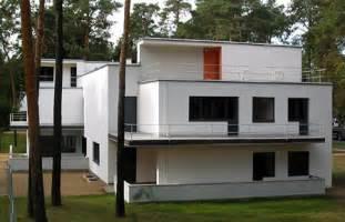 bauhaus architektur hã user meisterhäuser dessau häuser haus muche