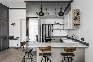 Renovated Apartment In Lithuania With Modern Eclectic