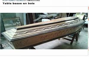 Le Bon Coin Table Basse : bretagne il vend un cercueil comme table basse sur le bon coin ~ Teatrodelosmanantiales.com Idées de Décoration