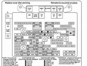 2003 Suburban Fuse Box Diagram