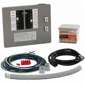 Generac 30 Amp Generator Transfer Switch Kit For 10