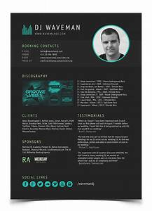 dj resume out of darkness With dj biography template