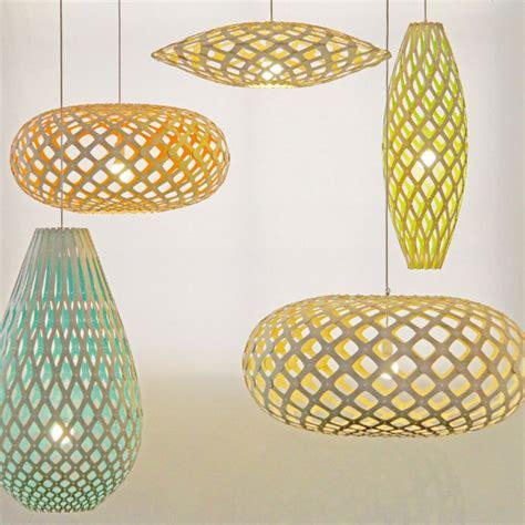 hanging light fixtures supension flax bois de bambou naturel non traité design