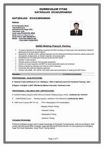 Iti welder resume