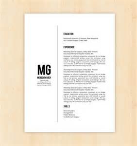 creative resume templates free download document resume template cv template the meredith grey by phdpress
