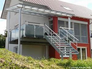 pfeffer metalltechnik treppen With französischer balkon mit treppe für garten