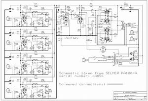 Selmer Pa 100 Amplifier Schematic