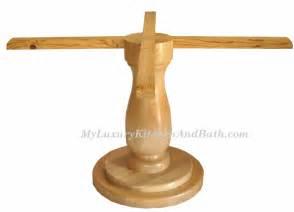 Wood Pedestal Table Bases