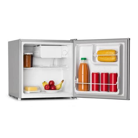 frigo mini bar frigo minibar 40 l look acciaio inox a ghiacciaia