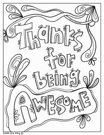 Appreciation Principal Teacher Week Nurse Secretary Coloring