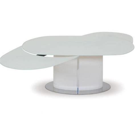 Table Ovale Extensible Tables Design Au Meilleur Prix Table Repas Ovale Extensible Odyssey 165x105 En Verre Blanc