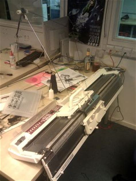 equipmentknitting machine london hackspace wiki