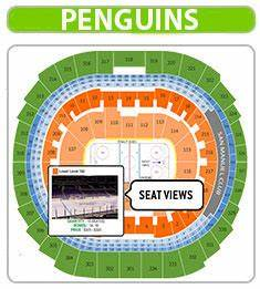 Penguins Seating Chart Penguins Seat Chart Ppg Paints Arena