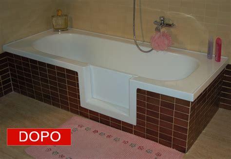 modifica vasca da bagno con sportello sportello laterale per vasca da bagno vascapoint accesso