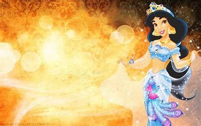 Jasmine Princess Aladdin Disney Fanpop Background Wallpapers