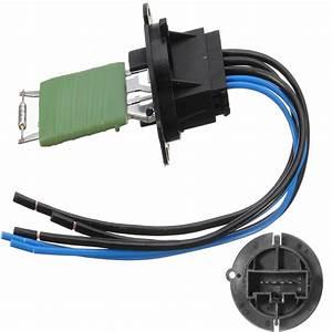 Heater Resistor Motor Resistor Wiring Loom Connector For