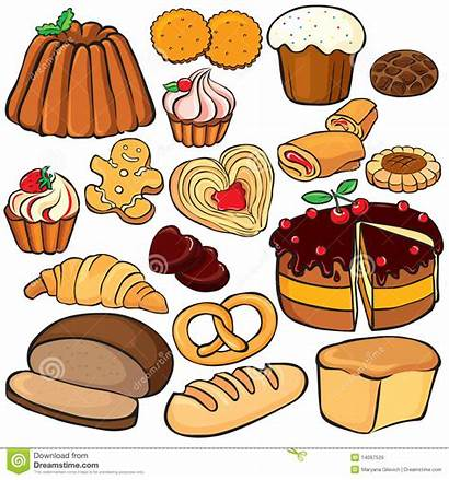 Baking Sweets Clipart Baked Icon Vector Pastry