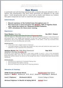 template for high resume for college admissions cv template for leavers uk cv or resumes
