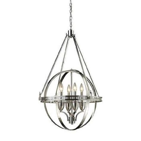 dumont mirrored chandelier pottery barn