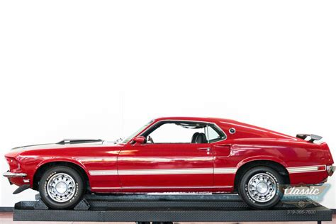 1969 Ford Mustang Mach 1 351 V8 351 Windsor V8 3 Speed