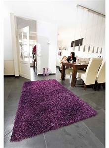 Tapis Salon Blanc : tapis salon gris violet cuisine naturelle ~ Teatrodelosmanantiales.com Idées de Décoration