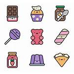 Kawaii Transparent Icons Icon Packs Candy Candies