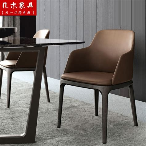 ikea fashion furniture solid wood dining chair upscale