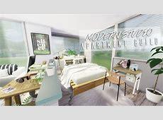 The Sims 4 Modern Studio Apartment Speedbuild YouTube