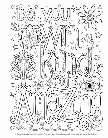 Coloring Positive Affirmation Pages Vibes Fun Affirmations