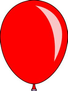 red balloon clip art  clkercom vector clip art