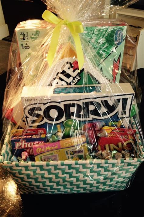 family game night gift baskets resident retention gift