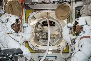 U.S. Spacewalkers Repair Space Station Robotic Arm in ...