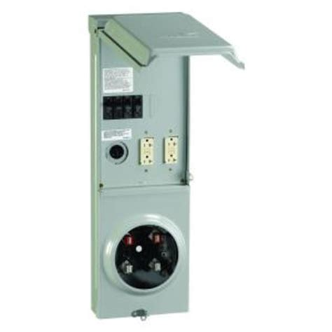 GE 100 Amp Ringless Underground Metered Temporary Power
